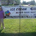 Ice Cream Socials- July, 2009