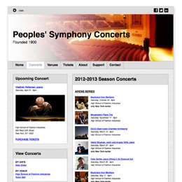 Peoples Symphony Concerts