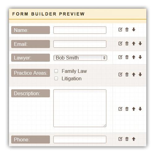 legal website builder