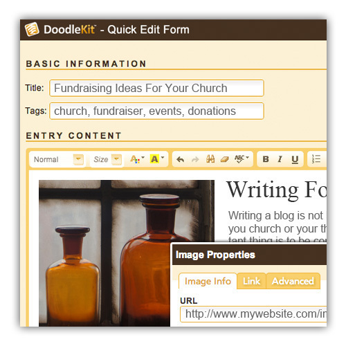 Church website builder free church website church website hosting