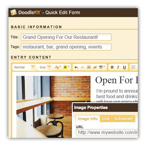restaurant web templates