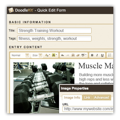 personal trainer websites