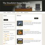 New Doodlekit Website Builder Layout
