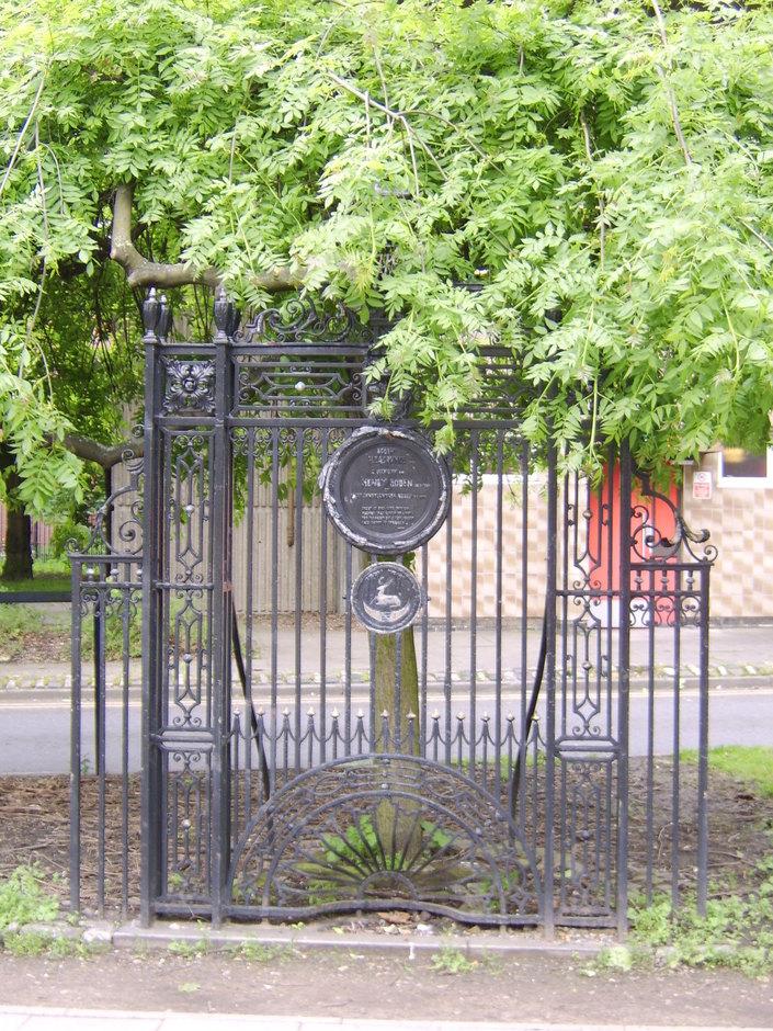 Gates to Boden's Pleasurance Bold Lane