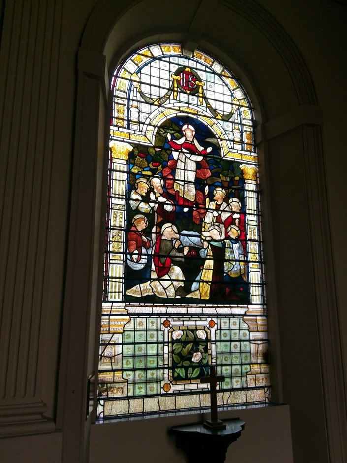 St Werburgh's stained glass