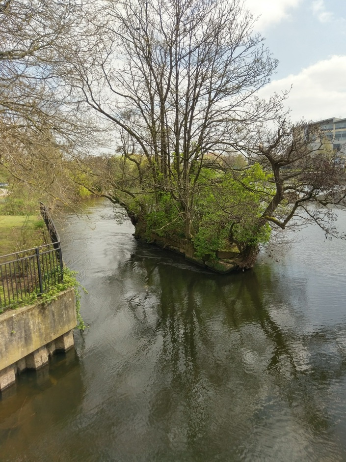 River Derwent in the city of Derby