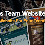 Make A Website For Your Sports Team!