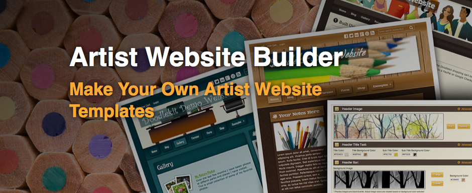 Artist Website Builder