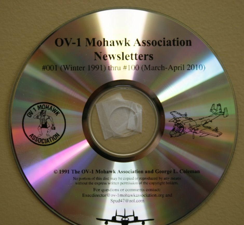 CD with first 100 Newsletters