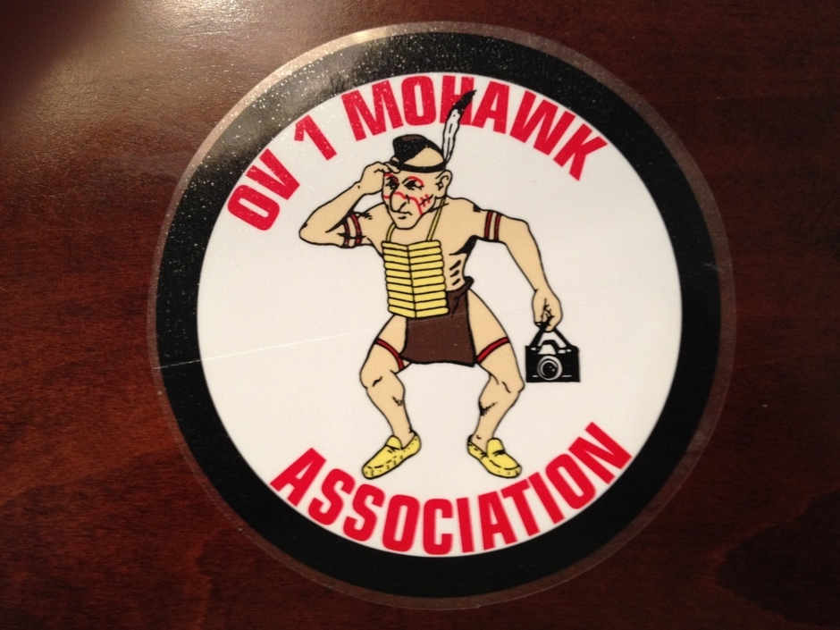 OV-1 Mohawk Indian Decal