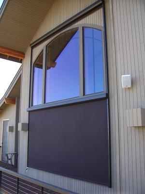 Motorized Exterior Solar Screens