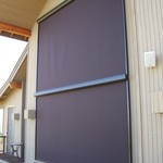 Motorized Exterior Solar Screens