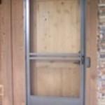 Screen Door with screen guard