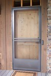 Screen Door with screen guard