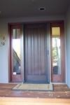 Roll-Away Retractable Screen Door - in use