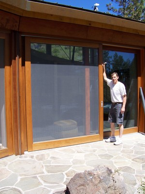 Custom Sliding Screen Door