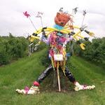 Social Eyes Scarecrow ..Winner  @ Garson Farm 2012