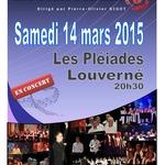 Concert le 14 mars aux Pléiades