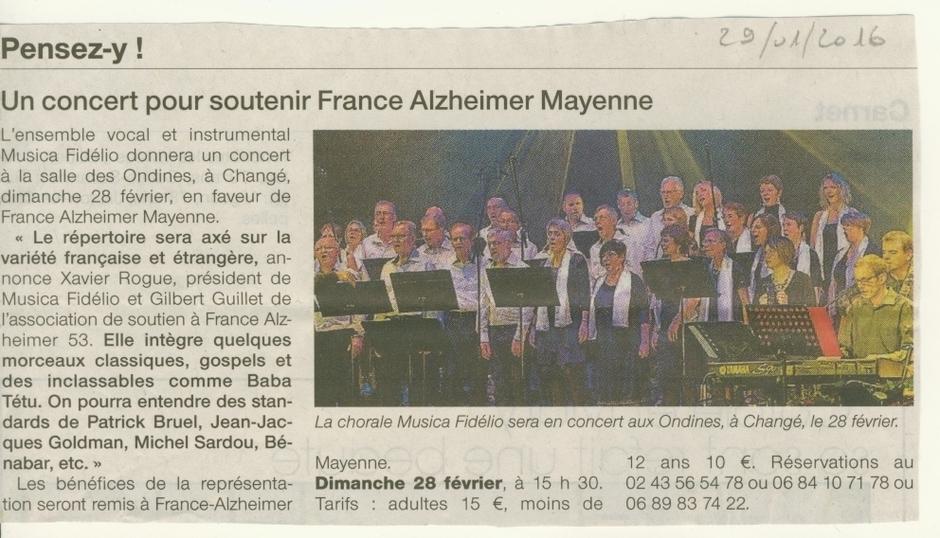 Ouest France du 29 01 2016