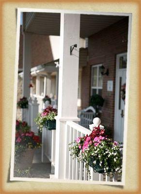 Big Front Porch at Vintage Gardens