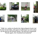 Thank you to Liberty Baptist Youth