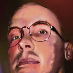 Corel Painter College project portrait