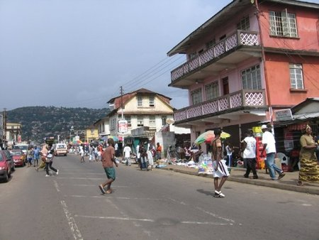 Street in Freetown