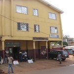 Crossroads Youth Center in the CLC building, Freetown