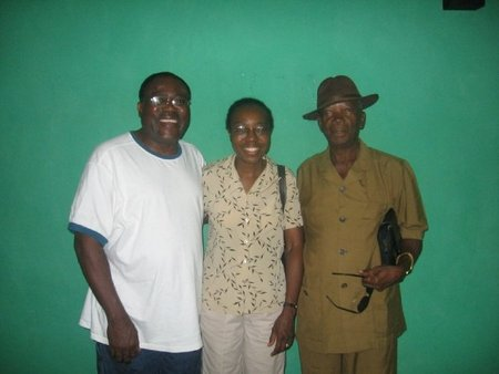 Dr. and Sister Shaka with the chief