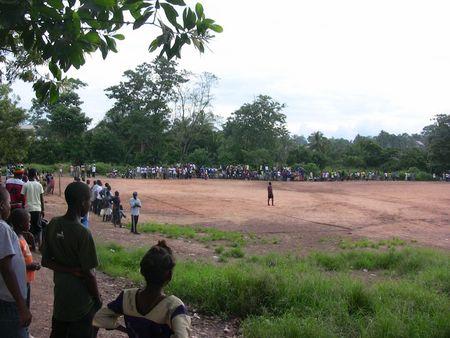 soccer gala audience