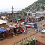 aeriel view of Freetown