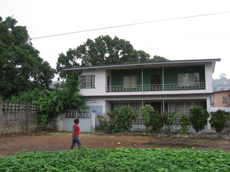 house in Freetown