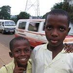 Boys in Freetown