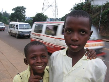 Boys in Freetown