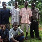 our teenage helpers