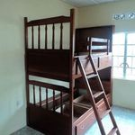the bunk beds look great in their new home!