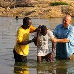 Baptism in Sewa River
