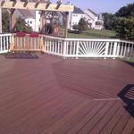 Mike & Ann's deck
