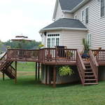 Trex Deck and Rail system