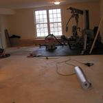 Gym Drywall Stage