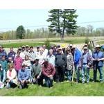 Dark Sky Fund WorkBee volunteers