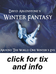 David Arkenstone in the Vergennes Opera House