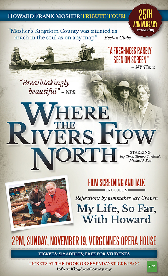 Where the Rivers Flow North film screening