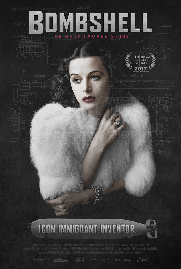 Bombshell: Hedy Lamarr Story, poster