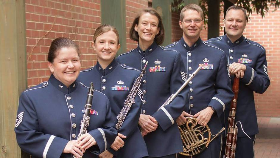 Heritage Winds, Free Concert at the Vergennes Opera House