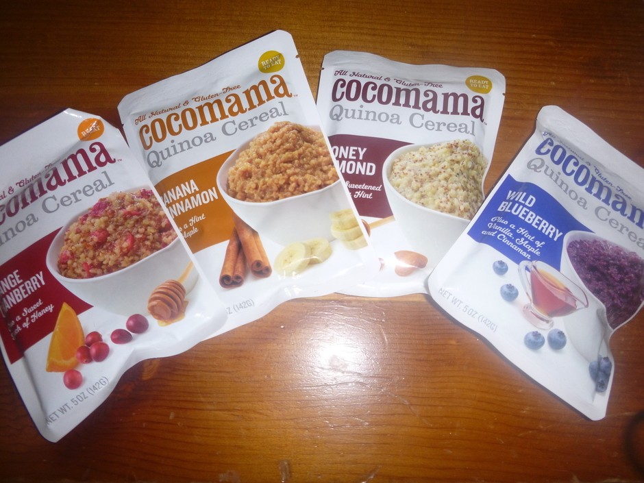 Cocomama sent me samples of their delicious Quinoa Cereal in Banana ...