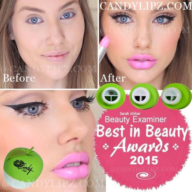 Get Sexy, Full and Pouty Lips with CandyLipz~ No Injections