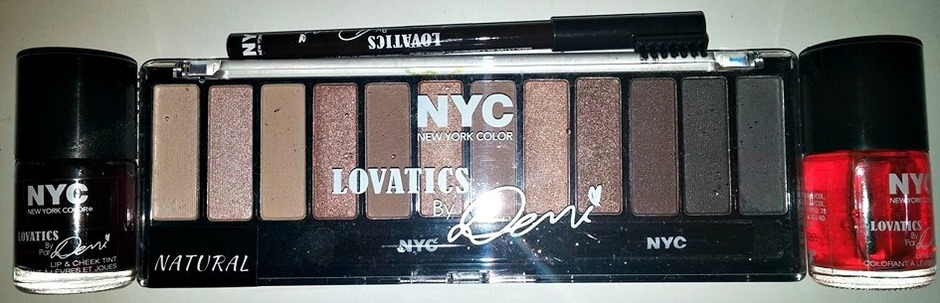 NEW! Lovatics by Demi Lovato for NYC New York Color