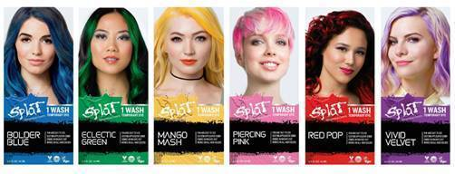 Switch up your Look with Fun New Hair Color from SPLAT~ Wash Out ...