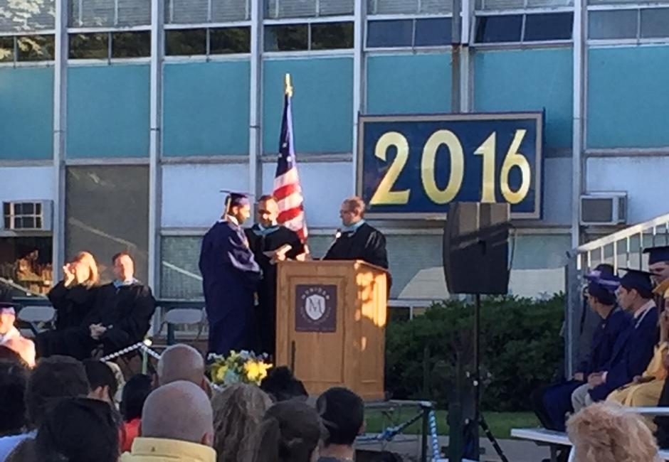 Edwin Roman Graduation